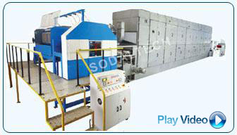 Multi Side Rotary Pulp Moulding Plant