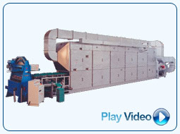pulp moulding plant with online drier, pulp moulding machinery, egg trays machinery, machine, pulp moulding, egg tray, molded pulp trays, fruit trays, molded plant  pots, pulp moulded products, recycled paper pulp, paper recycling machinery